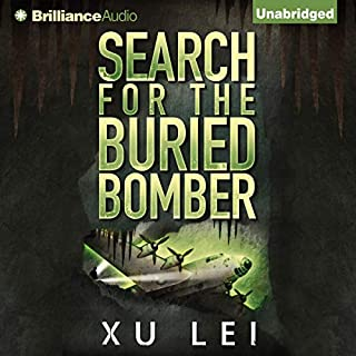 Search for the Buried Bomber audiobook cover art
