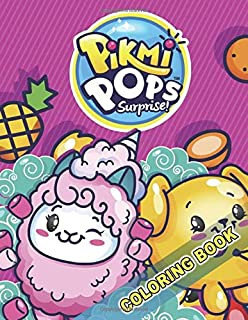 Pikmi Pops Coloring Book: Exclusive Illustrations for Kids