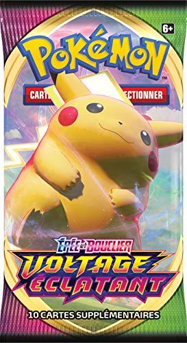 Pokémon Epée et Bouclier-Voltage Eclatant (EB04) : Booster-Jeu de Cartes à Collectionner, aléatoire