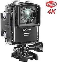 SJCAM M20 WiFi Action Camera 4K 16MP Sony Sensor Underwater Waterproof Camera Remote Control Gyro Stabilization 160 Degree Wide FOV Angle + Mounting Accessories Kit- Black