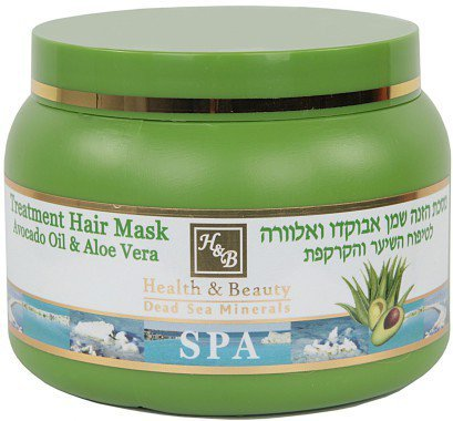 Health & Beauty Dead Sea Minerals - Avocado & Aloe Vera Hair Mask 250ml