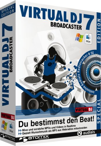Virtual DJ 7 Broadcaster Special Edition (PC+MAC)