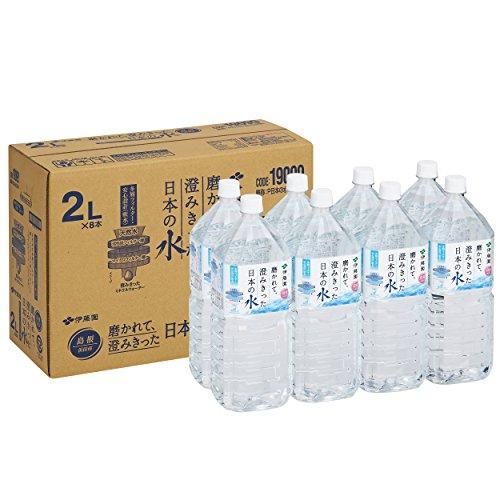 伊藤園 日本の水 島根 ペット 2L×8本