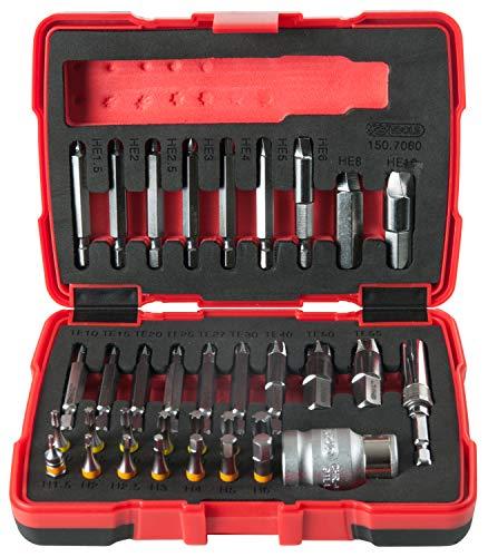 KS Tools 150.7060 Spezial-Schrauben-Ausdreher-Satz, 1/4 Zoll und 10 mm