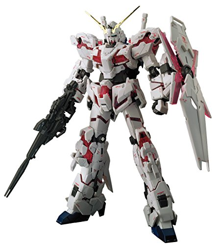 "Bandai Hobby RG 1/144 Unicorn Gundam UC Model Kit Figure, Multi-Colored, 8"" (BAN216741)"