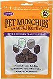 PET MUNCHIES - Snacks de adiestramiento para perros (8 Paquetes) (8 x 50g) (Hígado y Pollo)