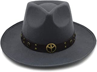 HaiNing Zheng Vintage Braid Belt Hat Fedora Hats For Women Mens Hat Woolen Felt Fedora Chapeau Homme Feutre Fascinator Sombrero