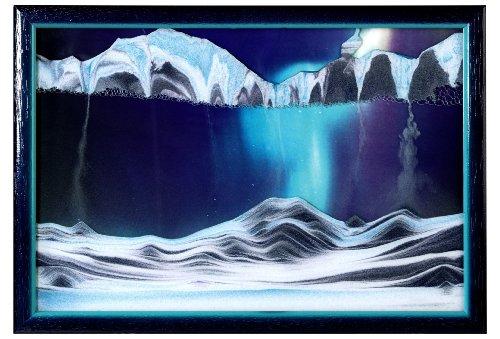 "Big Sale Best Cheap Deals Rainbow Vision Sand Picture By Klaus Bosch -- Small size ""Aurora Borealis"""