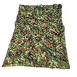 QIANMEI Velas de Sombra Toldos para Patio Camuflaje de sombreado Neto | Sombrilla de Red Oculta de Jungle | Adecuado para la campaña de Protector Solar de Caza Salvaje (Color : Green, Size : 3x3m)