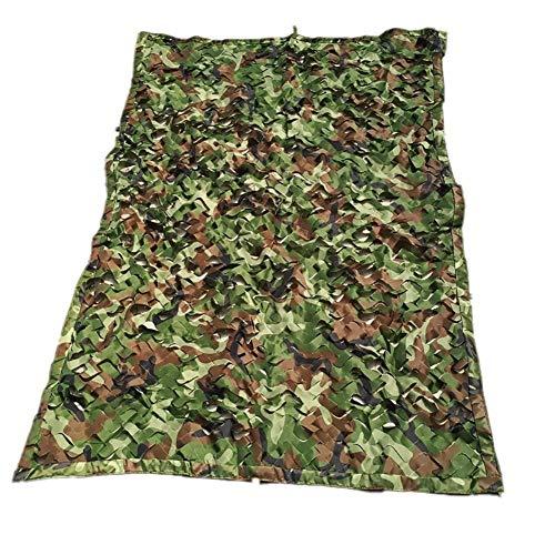 Filet de Camouflage Camouflage Filet Camping Auvent Chasse Protection Solaire Isolation Forêt Jungle Abri du Soleil maillé caché mwsoz (Couleur : Green, Taille : 10x10m)