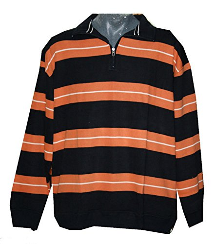 Greystone - Sweat-Shirt - Homme Orange Schwarz Orange