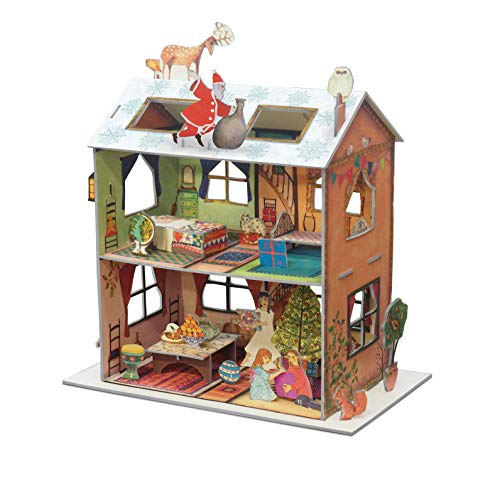 Roger la Borde The Night Before Christmas House Pop and Slot Advent