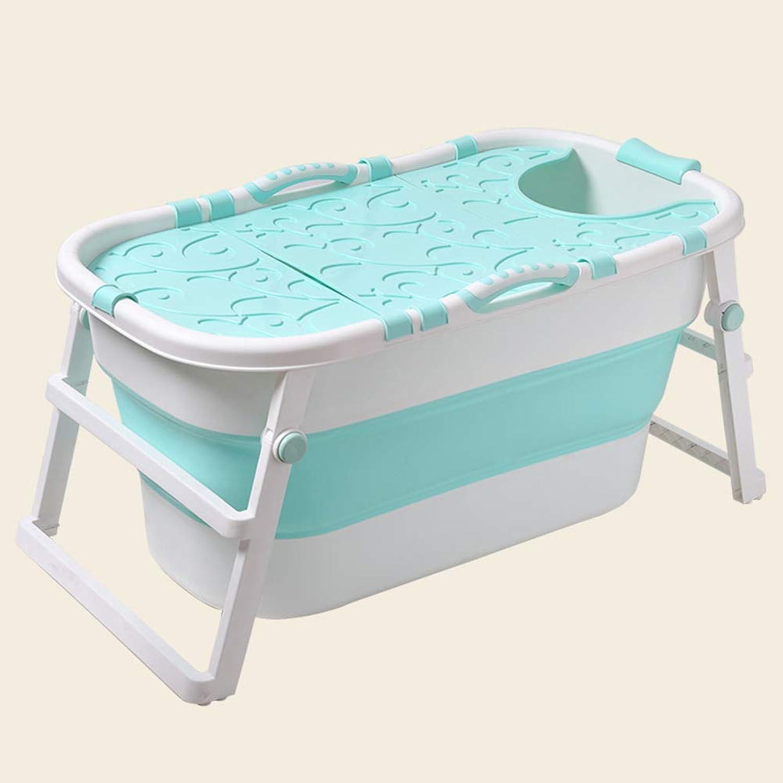 DENG&JQ Adult Bath Tub,collapsible Bath Tub Female Body Household Bath Increase Thick Plastic Bath-c 112x59x53cm(44x23x21inch)
