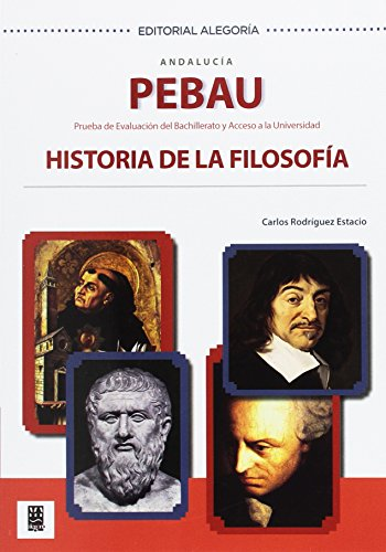 PEBAU. Historia de la Filosofía. Andalucía - 9788415380474