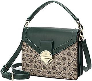 حقيبة يد نسائية من SAGA بلون أخضر فاتح