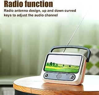 Heyean Retro Bluetooth Speaker Portable Phone Holder Radio Car Stereo Equipment