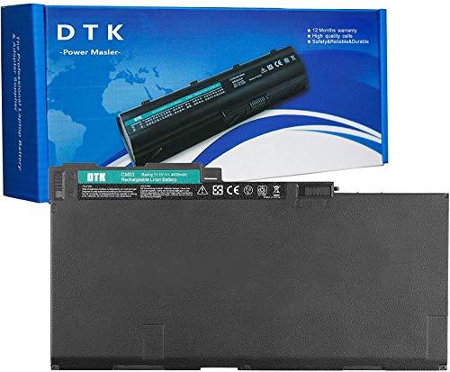 DTK Batteria Portatile per HP EliteBook 755 850 G3   740 745 750 755 840 845 850 855 G1 G2   ZBook 14 15u G2 serie CM03 CM03XL CO06XL 717376-001 716723-271 716724-421 Batterie 11.1V 4400mAh