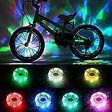 DAWAY Rechargeable Bike Wheel Lights - A16 Cool Led Kids Bicycle Spoke Lights