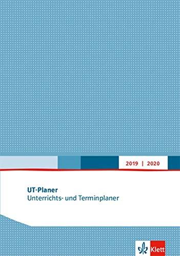 UT-Planer 2019/2020. Unterrichts- und Terminplaner: Kalender (Format DIN A4)