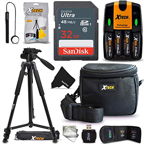 Pro Accessory Kit for Nikon Coolpix B500, L340, L840, L830, L820, L810, L620, L610, L330, L320, L310, L32, L31, L30, L28, L26, L120, L110, L105, L100 Digital Camera (10pc Accessory Bundle)