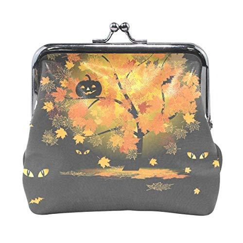 Geldbörse Halloween Eule In Hexenkostüm Damen Geldbörse Clutch Bag Girls Kleine Geldbörse