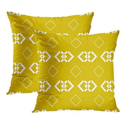 Y·JIANG - Copricuscino quadrato in velluto, stile astratto, ricci, stile damascato, motivo floreale, morbido, quadrato, per divano, sedia, camera da letto, 40,6 x 40,6 cm, set di 2