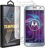 Ycloud 4 Pack Verre Trempé pour Motorola Moto X4, HD Transparent Screen Protector [Anti-Rayures]...