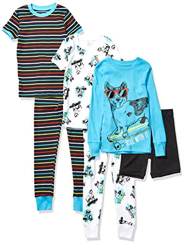 Marke Spotted Zebra Unisex Baby Pyjama Set 3-piece Snug-fit Cotton Pajama Set