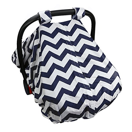 Baby Infant Car Seat Cover- Protective Canopy Against Sun,...