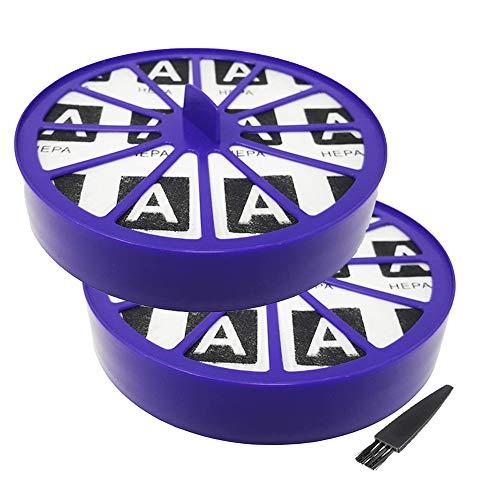 GoldTone repuesto de por vida para Dyson Vacuum dc14 filtro Hepa para Animal Multifloor Wireless Ball Dyson piezas de repuesto 901420-02 921623-01 901420-01 923480-01 (2 unidades)