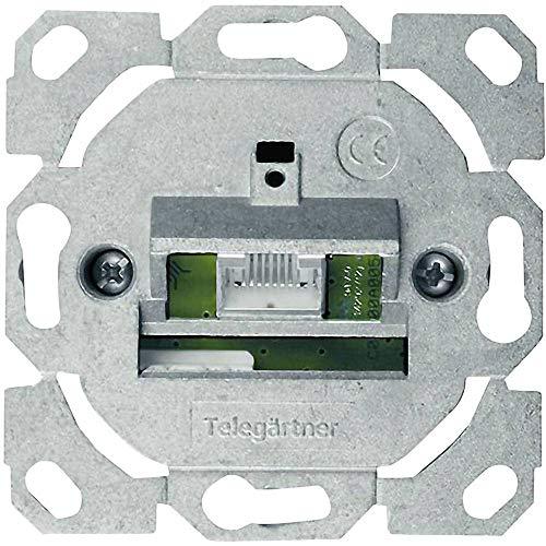 "Teleg""rtner AMJ45 Anschlussdose Kat.6A (tief), ohne ZP, 1"