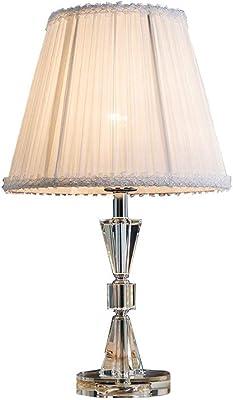 Lampada da tavolo-comodino con attacco di ricarica e lampadina calda, base in claret di legno accanto a Lamp, lampada perfetta per camera da letto, soggiorno o ufficio