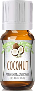 Coconut Scented Oil by Good Essential (Premium Grade Fragrance Oil) - Perfect for Aromatherapy, Soaps, Candles, Slime, Lot...