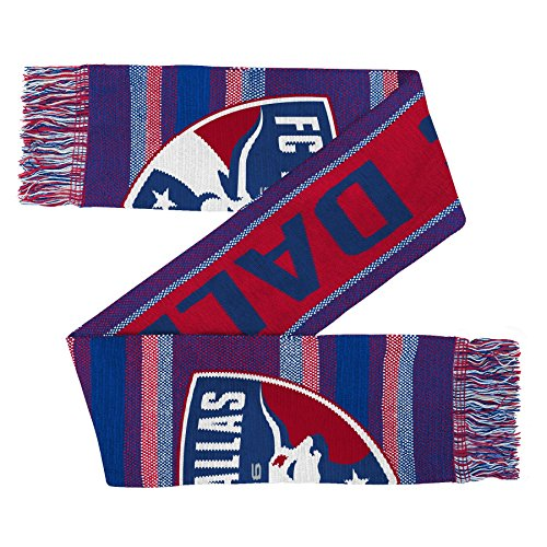 """MLS Fc Dallas Youth Outerstuff """"Fan"""" Scarf, Team Color , Youth One Size"""