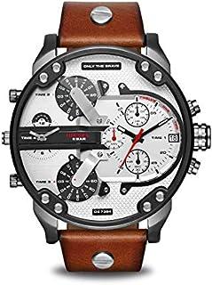 Diesel Sport Watch For Men Analog Leather - DZ7394