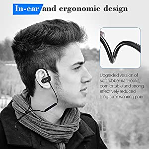 Wireless Earbuds Bluetooth Headphones,BTTB Bluetooth 5.0 Auto Pairing in-Ear Headphones with Portable Case Wireless Charging Case (White) 1216