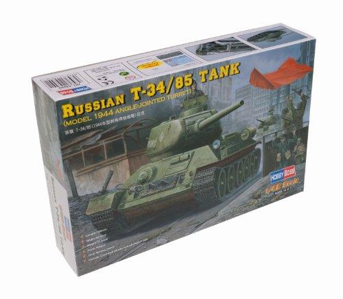Hobby Boss 84809 - Modellino da Costruire, carro da Combattimento Medio dell'Esercito sovietico T-34/85, 1945