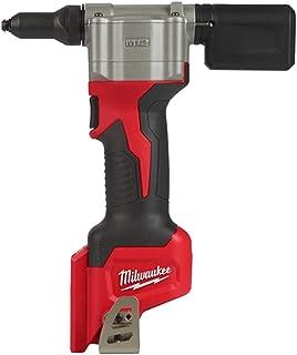 Milwaukee M12BPRT-0 Pop Rivet Tool, Red and Black