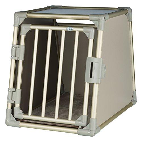 Trixie Transportín, Aluminio, M: 55×62×78cm, Champán