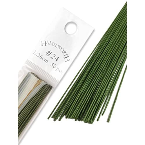 "inch 7/"" arts//crafts green// blue anneal Stub Wire  Florist Wires Floristry"