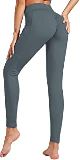 Dawwoti Active Tights for Women Soft Active Pants Non See-Through Active Pants