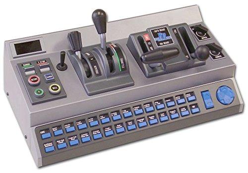 Aerosoft Raildriver Desktop Eisenbahnsimulator-Controller USB PC Grau