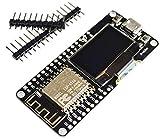 TECNOIOT ESP8266 ESP12F OLED NodeMCU WiFi WeMOS Development Board |ESP8266 ESP12F OLED NodeMCU WiFi WeMOS Junta de Desarrollo