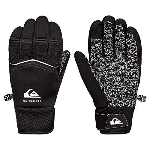 Quiksilver Method-Gants de Snow/Ski pour Homme, True Black, FR : L (Taille Fabricant : L)