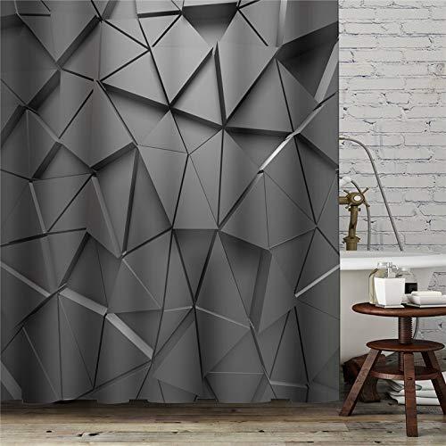 XCBN Obst Kunstwerk Duschvorhänge wasserdicht mit Haken Gardinen für Badezimmerdekoration Wohnkultur Vorhang A35 150x180cm