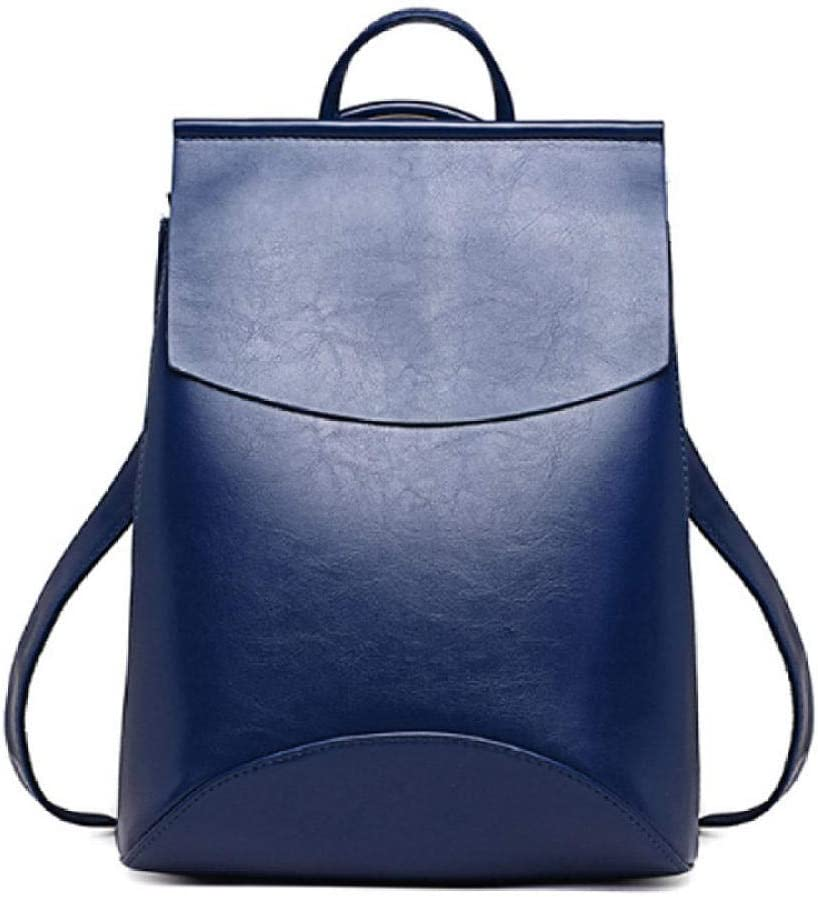 Fashion Women Backpack Pu Leather Backpacks for Teenage Girls Female School Shoulder Bag Hj-8110