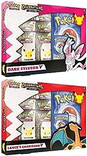 Pokémon USA, Inc. | Pokemon TCG: Feesten V Box - Lance's Charizard V & Dark Sylveon V (25e Anniv) CASE | Kaartspel | Leeft...