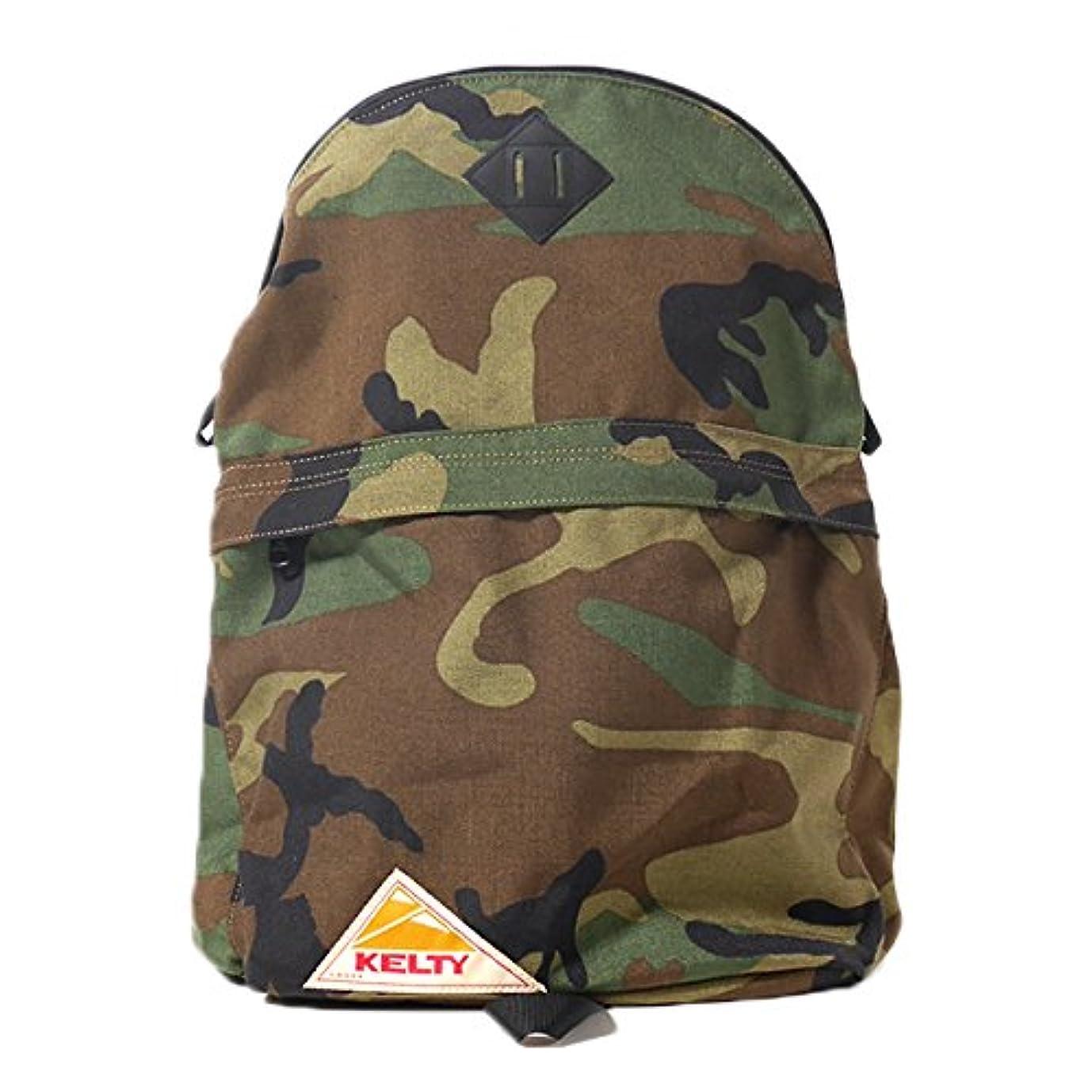 木製スカウトクールKELTY ケルティ 迷彩 リュック CAMO DAYPACK (2592041) カモ柄 カモフラージュ デイパック リュックサック バックパック バッグ 鞄 コーデュラ ナイロン メンズ レディース 正規取扱品
