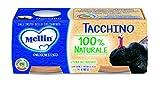 Mellin Omogeneizzato di Tacchino 100% Naturale – 12 Vasetti da 80 gr