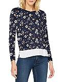 Springfield 6764851T8 T-Shirt, Azul, S Womens